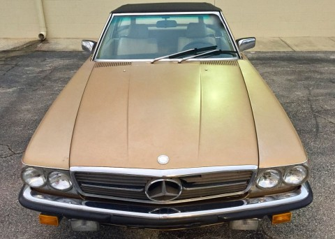 1985 Mercedes Benz 380SL Convertible for sale