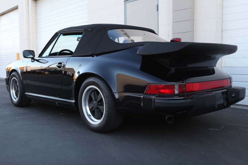 1988 Porsche 911 Carrera Cabriolet Triple Black