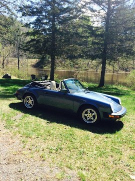 1989 Porsche Carrera 911 Convertible for sale