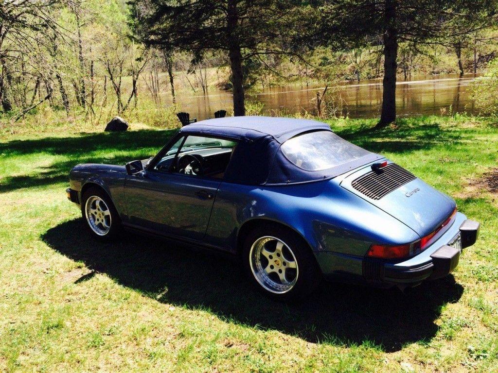 1989 Porsche Carrera 911 Convertible