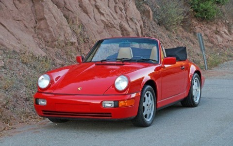 1990 Porsche 911 Carrera 2 Cabriolet (964) for sale