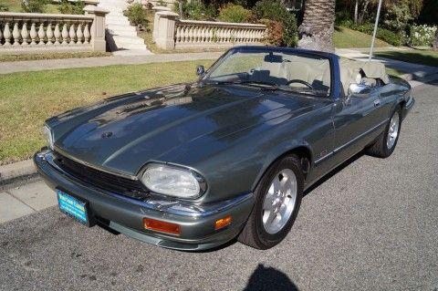 1995 Jaguar XJS Convertible with 10,500 Original miles for sale