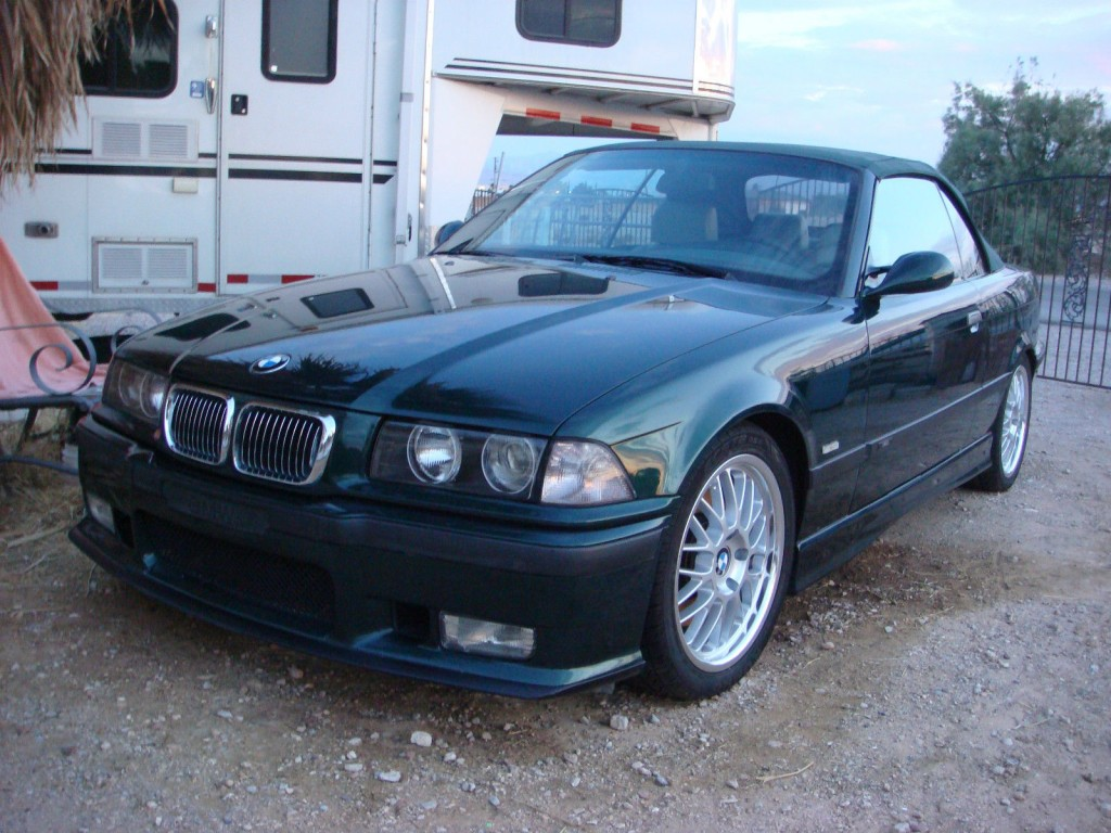 1999 BMW M3 Convertible 3.2L Manual Transmission