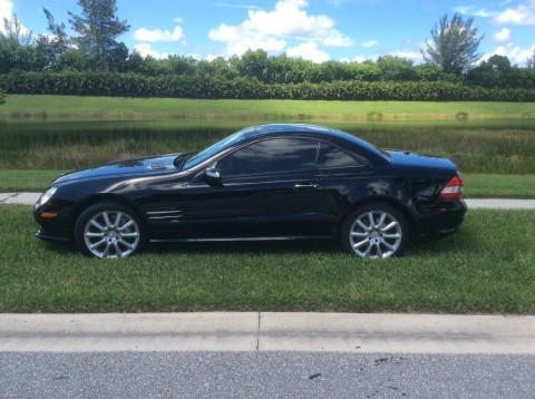 2007 Mercedes Benz SL550 for sale