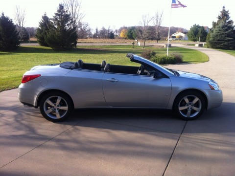 2007 Pontiac G6 GT Sport Convertible / Hardtop for sale