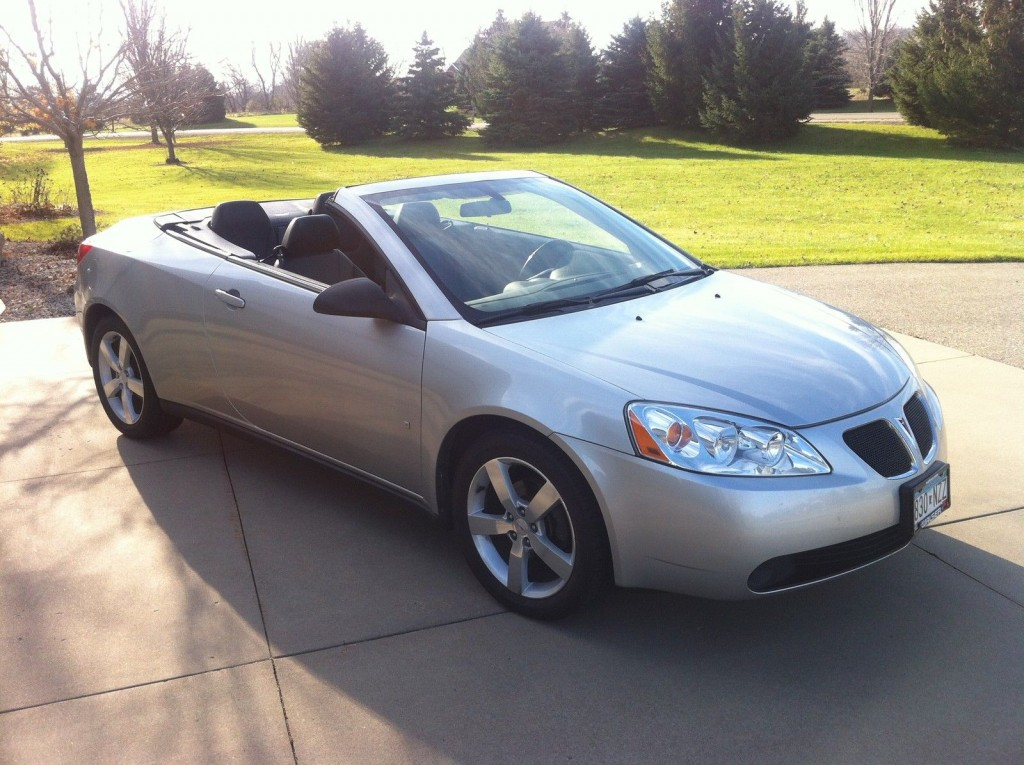 2007 pontiac g6 gt sport convertible hardtop for sale. Black Bedroom Furniture Sets. Home Design Ideas