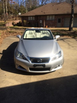 2010 Lexus IS250 C Convertible 2 Door 2.5L for sale