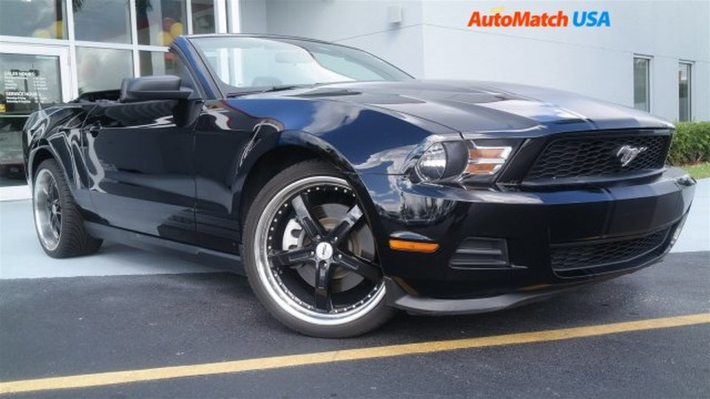 2012 ford mustang v6 convertible for sale. Black Bedroom Furniture Sets. Home Design Ideas