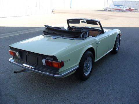 1969 Triumph TR 6 Jasmine Yellow for sale