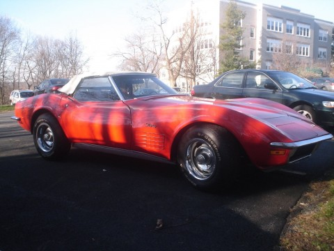 1970 Chevrolet Corvette Convertible original car for sale