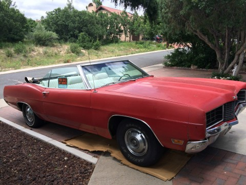 1970 Ford Galaxie LTD XL Convertible for sale
