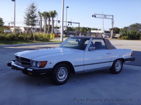 1985 Mercedes Benz 380SL Roadster Convertible for sale