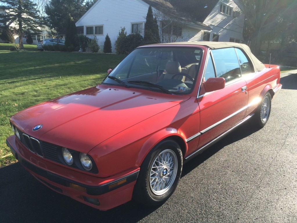 1992 BMW 325 Convertible (E30)