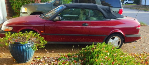1996 Saab 900 Turbo Convertible for sale