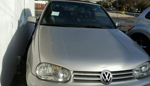 2000 Volkswagen Cabrio GLS Convertible for sale