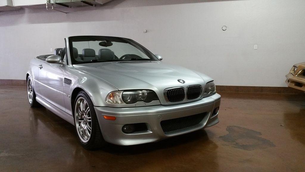 2001 BMW M3 6 Speed manual Convertible