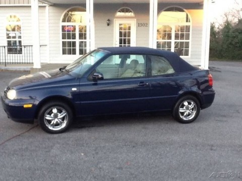 2002 Volkswagen Cabrio GLS for sale