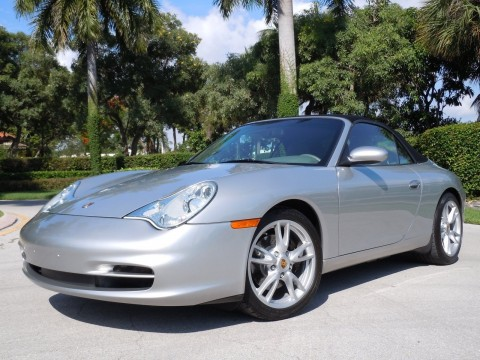 2003 Porsche Carrera Cabriolet Silver for sale
