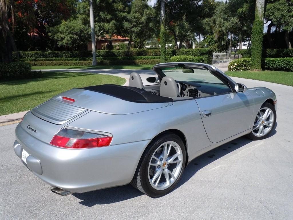 2003 Porsche Carrera Cabriolet Silver For Sale
