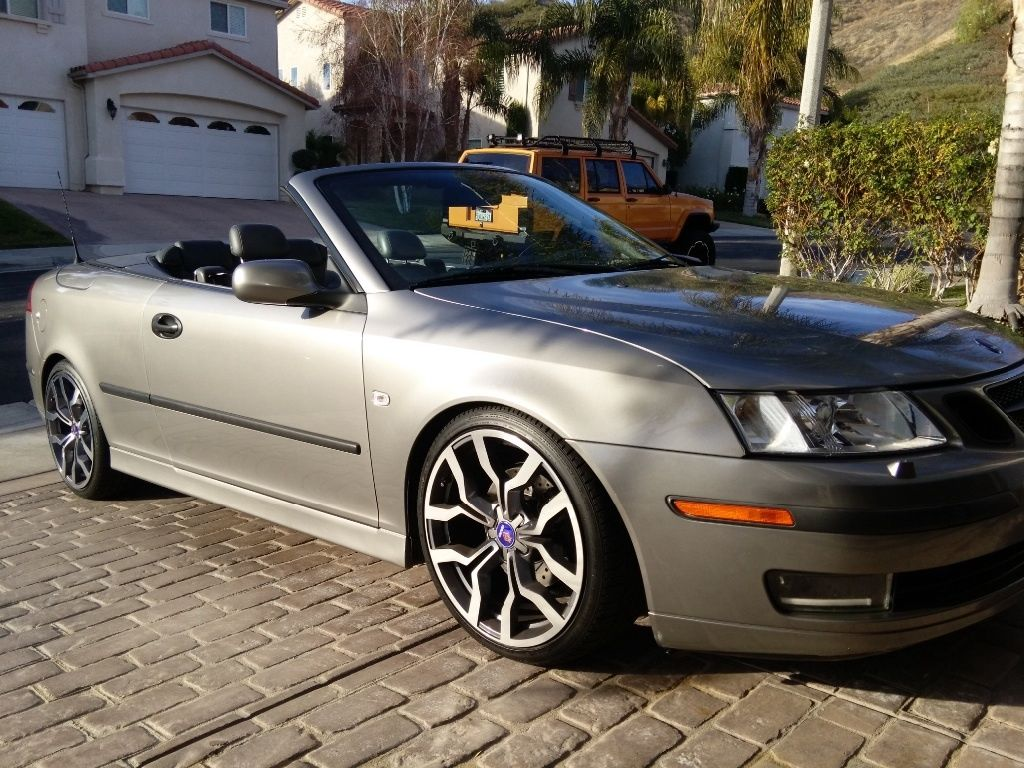 2004 saab 9 3 arc convertible for sale. Black Bedroom Furniture Sets. Home Design Ideas