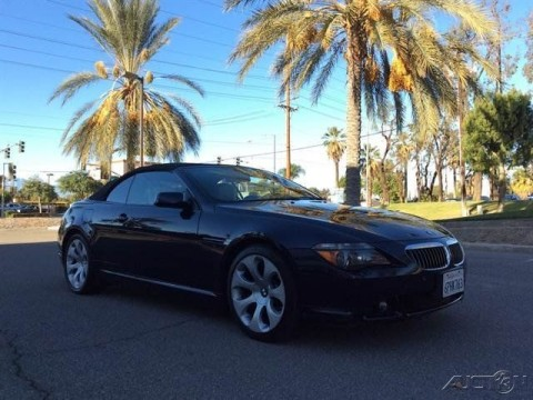2006 BMW 6 Series 650i Convertible for sale