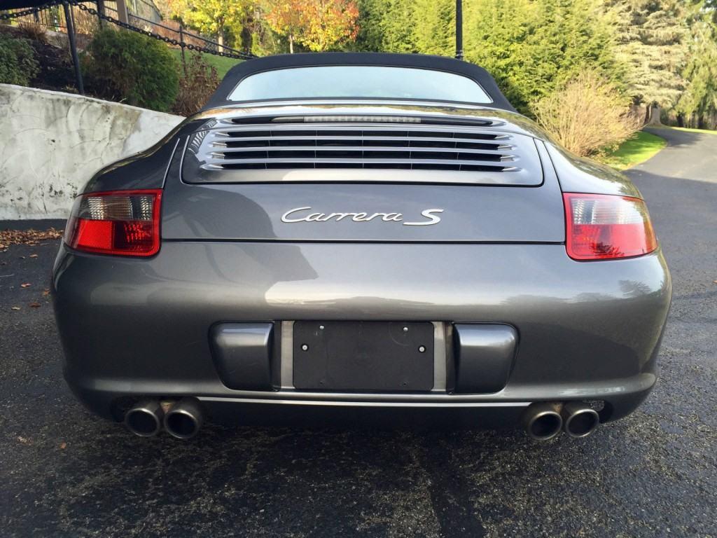 2008 Porsche 911 S Cabriolet