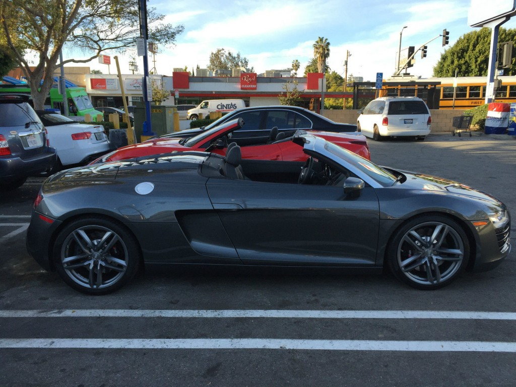 2015 Audi R8 Spyder Convertible 2 Door 4.2L