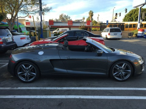 2015 Audi R8 Spyder Convertible 2 Door 4.2L for sale