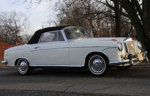 1959 Mercedes Benz 220S Cabriolet convertible for sale