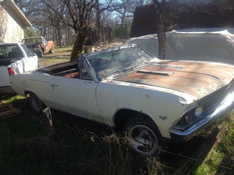 1966 Chevrolet Chevelle Malibu Convertible for sale