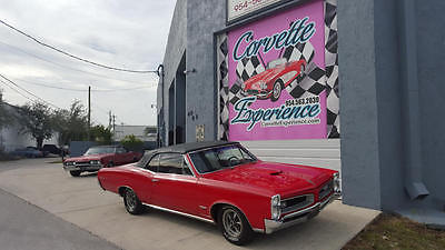 1966 Pontiac GTO Convertible 389/330HP for sale