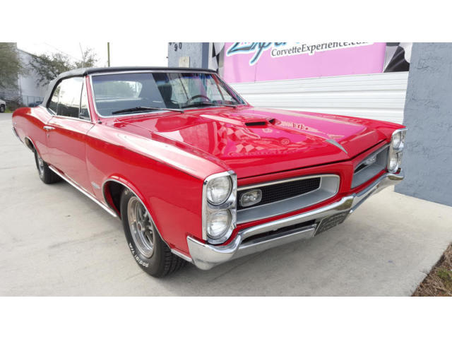 1966 pontiac gto convertible 389 330hp for sale. Black Bedroom Furniture Sets. Home Design Ideas