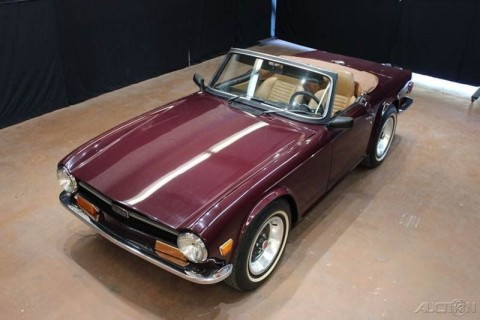 1972 Triumph TR6 Convertible for sale