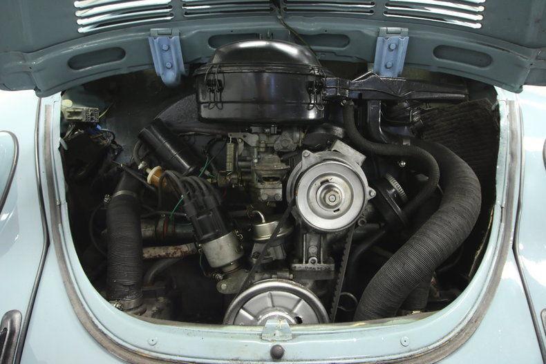 1972 Volkswagen Beetle Karman Convertible