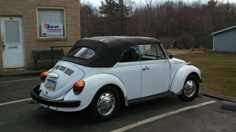 1973 Volkswagen Super Beetle Convertible for sale