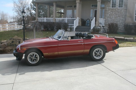 1974 MG MGB Roadster for sale