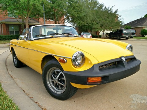 1979 MG MGB MK IV Convertible 2 Door 1.8L for sale