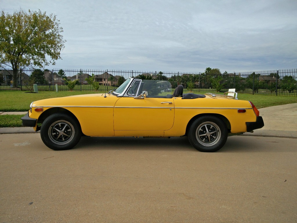 1979 mg mgb mk iv convertible 2 door 1 8l for sale. Black Bedroom Furniture Sets. Home Design Ideas