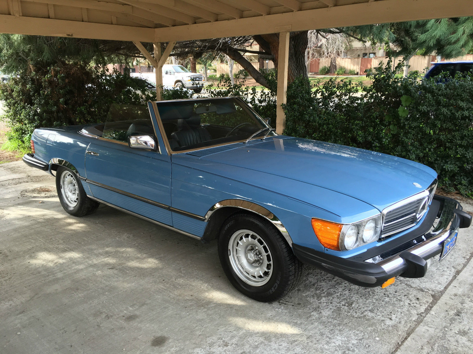 1980 mercedes benz 450 sl california for sale. Black Bedroom Furniture Sets. Home Design Ideas
