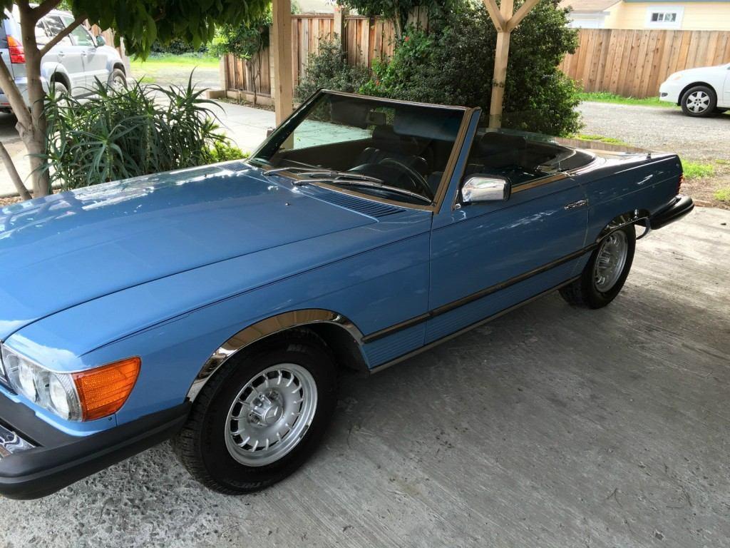 1980 mercedes benz 450 sl california for sale for Mercedes benz sacramento ca