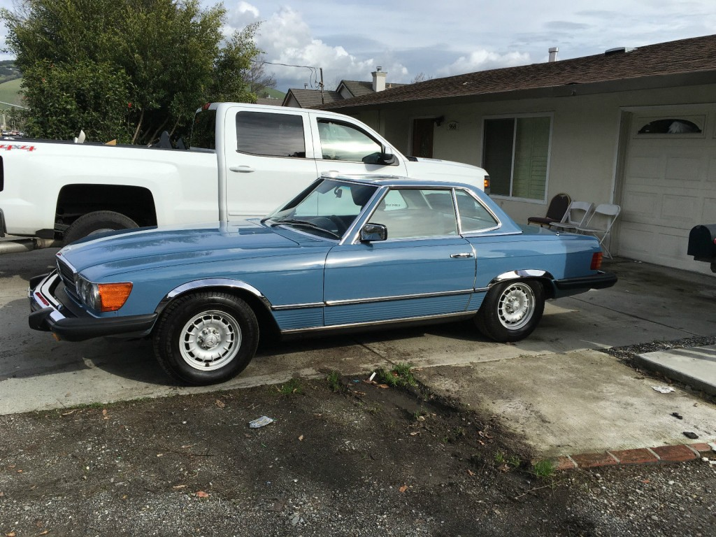 1980 mercedes benz 450 sl california for sale for Mercedes benz of fairfield california