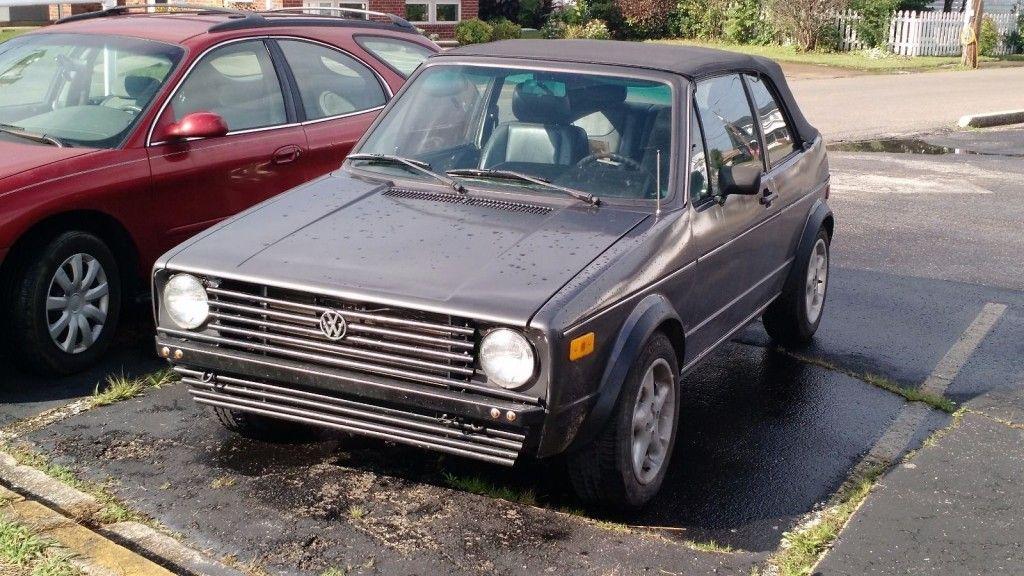 1984 Volkswagen Rabbit Cabriolet