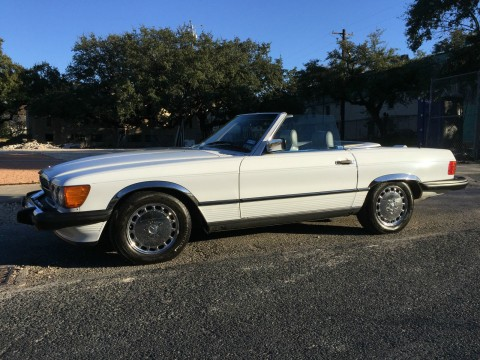 1988 Mercedes Benz 560sl Base Convertible 5.6L for sale
