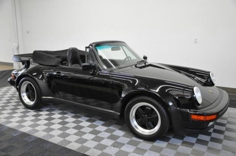 1988 Porsche 911 Turbo Cabriolet for sale