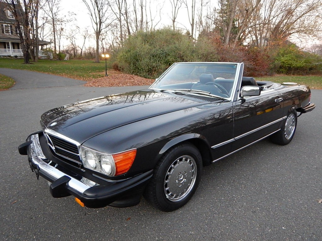 1989 mercedes benz 560 sl convertible for sale for Mercedes benz sl convertible