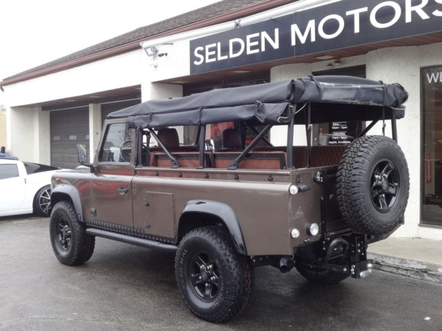 1990 Land Rover Defender 110 Convertible For Sale