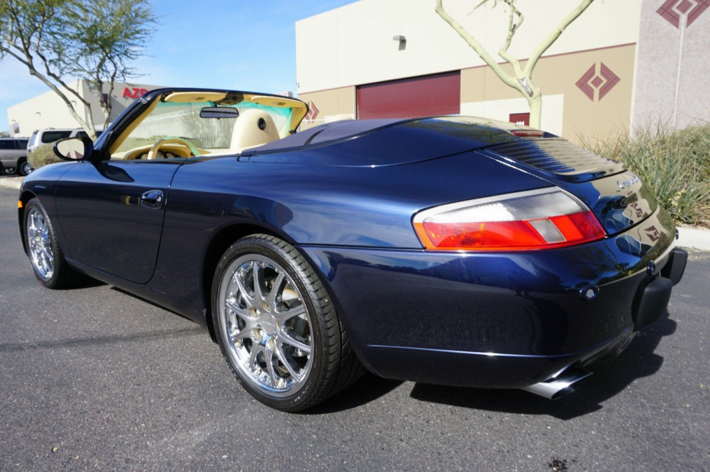 2000 Porsche 911 4 Cabriolet 996