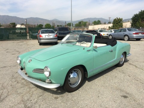 1965 Volkswagen Karmann Ghia Convertible for sale