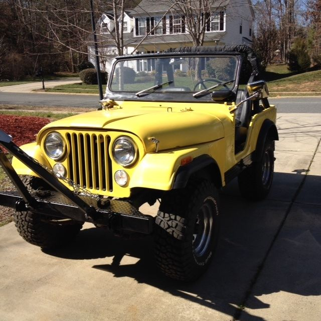 1972 Jeep CJ5 For Sale