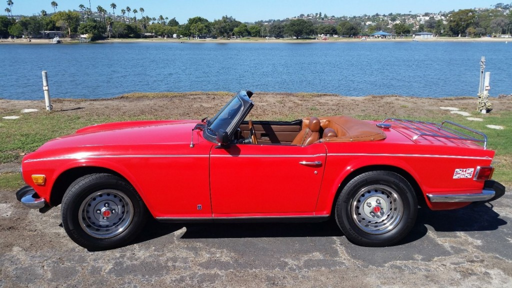 1974 Triumph Tr 6 For Sale